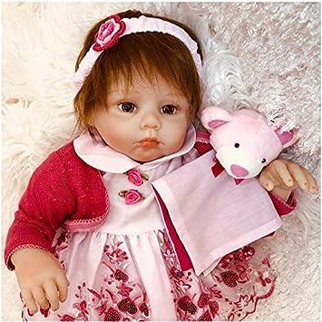 Amazon.es: OtadDolls 20inch 50cm Bebe Reborn niña Silicona ...