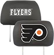 Fanmats NHL Philadelphia Flyers Polyester Head Rest Cover