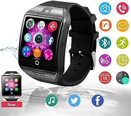 Smartwatch Bluetooth Reloj Inteligente pantalla táctil con ranura ...