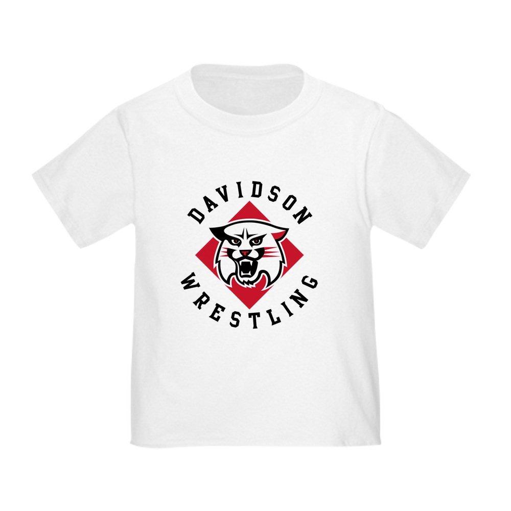 CafePress Davidson Wrestling - Cute Toddler T-Shirt, 100% Cotton