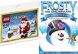 Lego Santa + Frosty the Snowma