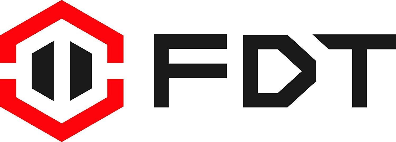 FDT 1080P HD Wi-Fi Pan / Tilt Cámara IP (2.0 Megapíxeles) Cámara de seguridad inalámbrica interior FD8901 (Negro), Plug & Play, Audio bidireccional y visión ...