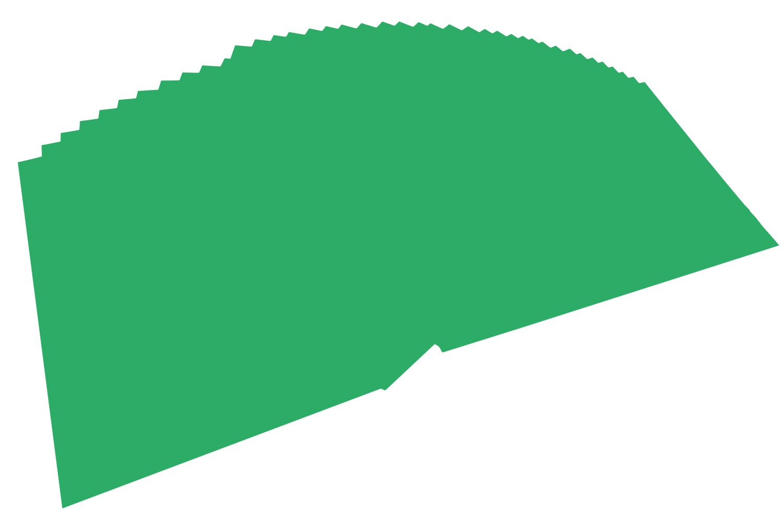 Folia - Carta colorata 6458, formato A4, 100 fogli, colore verde scuro 100fogli