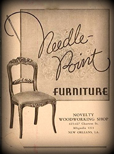 Needle-Point Furniture: 1930 Trade Catalog