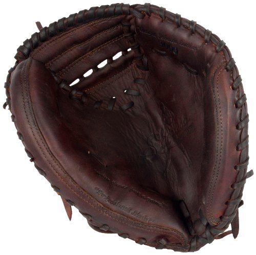 Shoeless Joe Gloves Junior Brown Catchers Mitt, 30-Inch, Right Handed by Shoeless Joe Gloves