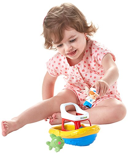 Fisher-Price Little People Bath Floaty Boat