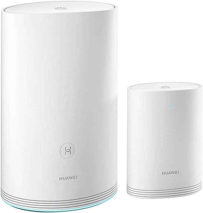 HUAWEI WiFi Q2 Pro (1 Base + 1 Satellite) WiFi Router Gigabit 5G Hybrid Router Home Mesh Office Internet Router