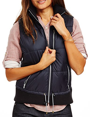 Carve Designs Women's Point Reyes Vest, Black, Medium by Carve Designs