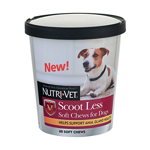 Nutri-Vet Wellness Scoot Less Soft Chews for Dogs, 60 Count