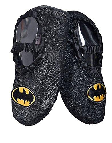 DC Comics Batgirl Toddler Glitter Slipper Shoes