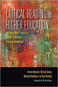 Critical Reading in Higher Education: Academic Goals and Social Engagement (Scholarship of Teaching and Learning)