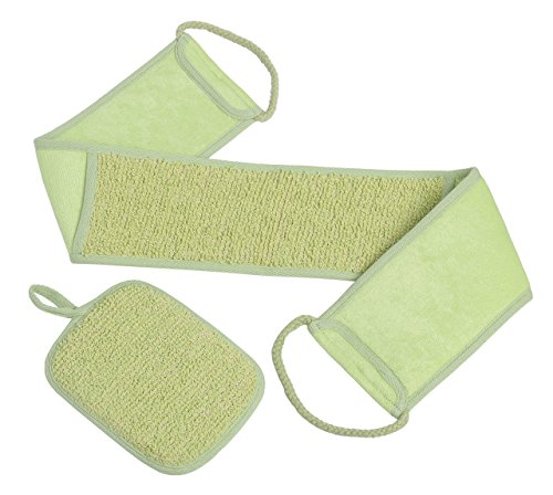 AMERICAN BABY COMPANY (ABC) Back Scrubber Exfoliating Set...