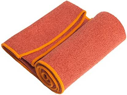 YogaRat YOGA TOWEL: 100% Microfiber with textured weave. Offered in three mat-length sizes (26