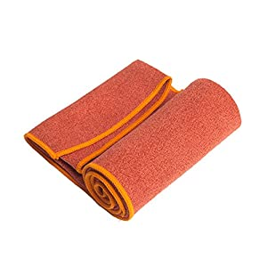 Well-Being-Matters 51iaUbOWSqL._SS300_ YogaRatYoga Towel - 100% Microfiber -Multiple Sizes -Non-Slip - Absorbent - Thin - Lightweight Yoga Mat Towels - Yoga Hand Towel Option Available