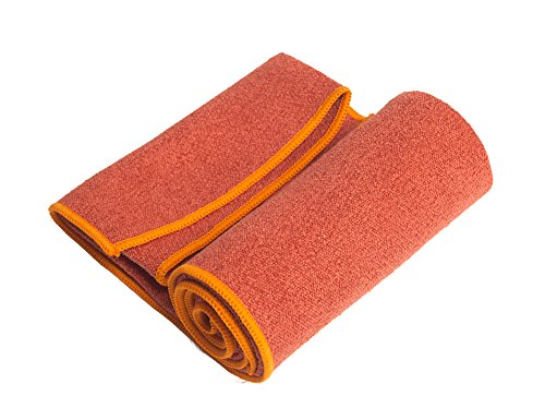 YogaRat Hand Towel - 100% Microfiber Hand Towels - Place Beside Your Mat During Practice - Wipe Sweat From Face and...