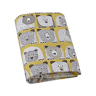 DwellStudio Crib Fitted Sheet, Bears