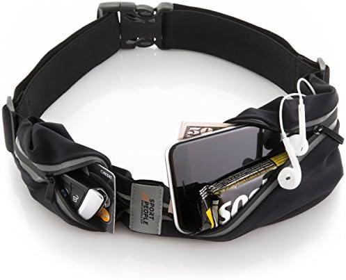 Hilly Unisexe Double Peau Bracelet-Gris Sport Running Respirant Léger