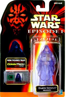 Star Wars Episode 1 Darth Sidious Holographic Action Figure - Darth Sidious