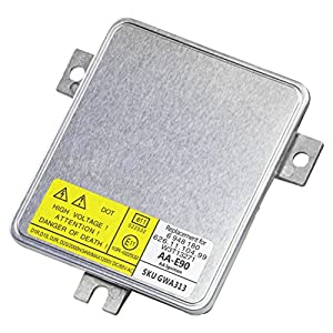 HID Xenon Headlight Ballast - Control Unit Module - Replaces# 63126948180, W3T13271, 6261110499 - Fits BMW 323i, 325i, 325xi, 328i, 328xi, 330i, 330xi, 335i, Volvo S80, V70, XC70 - Years 2004-2016
