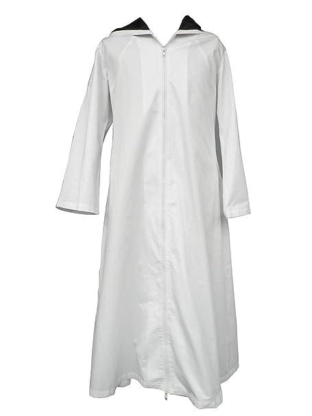 Amazon.com: LVCOS Anbu Ninja Cosplay Costume White Cap Cloak ...