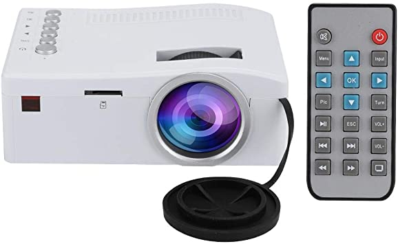 Mini proyector LED, Full HD 400Lux, 1080P y pantalla de 110 ...