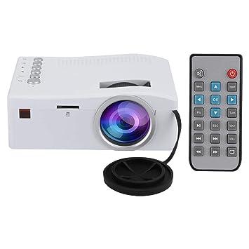 Mini proyector LED, Full HD 400Lux, 1080P y pantalla de 110 ...