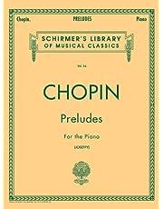 Preludes: Schirmer Library of Classics Volume 34 Piano Solo