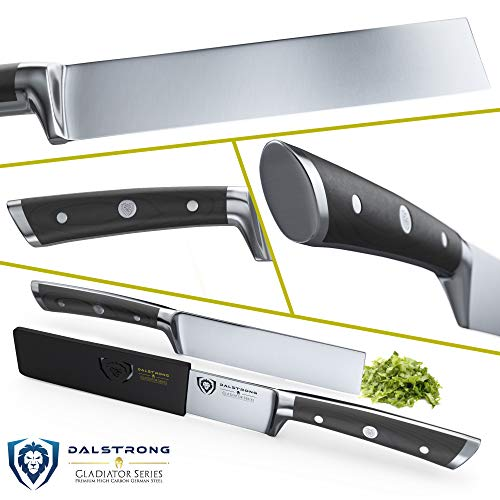 DALSTRONG Produce Knife - Gladiator Series - German HC Steel - 6'' -w/Sheath by Dalstrong (Image #1)