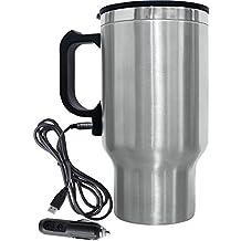 BRENTWOOD BTWCMB16C, Electric Coffee Mug W/Wire Car Plug