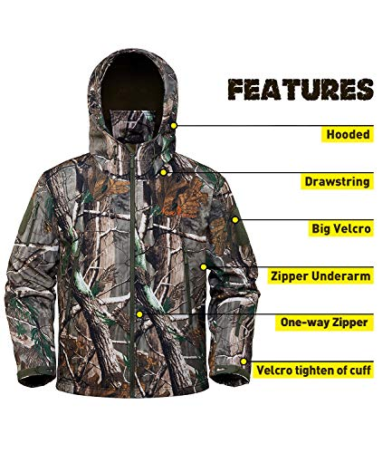 NEW VIEW Upgraded Hunting Clothes for Men,Silent Water Resistant Hunting Suits,Hunting Jacket and Pants