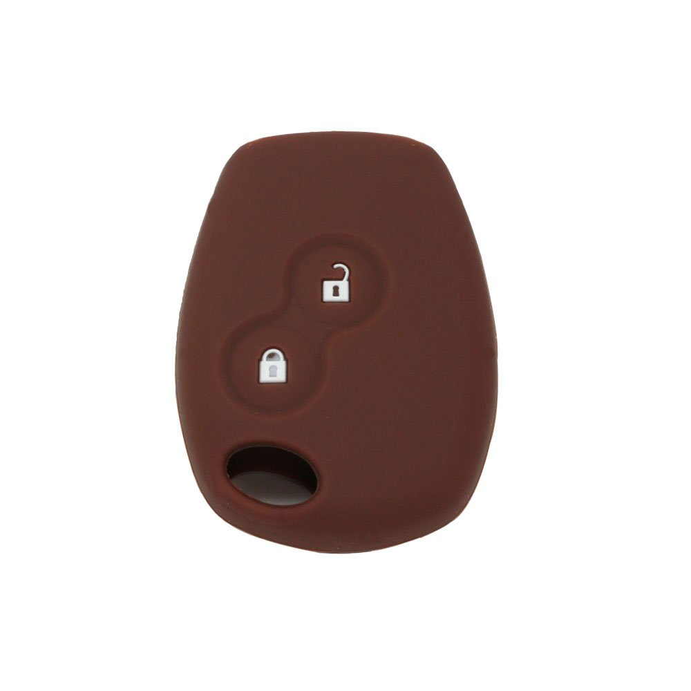Funda de silicona Fassport CV4350 para llaves de mando a distancia con dos botones de Renault Dacia.