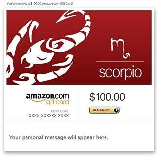 Amazon Gift Card - Email - Birthday (Scorpio: Oct. 23-Nov. 21) (B00DNHLB3M) | Amazon price tracker / tracking, Amazon price history charts, Amazon price watches, Amazon price drop alerts