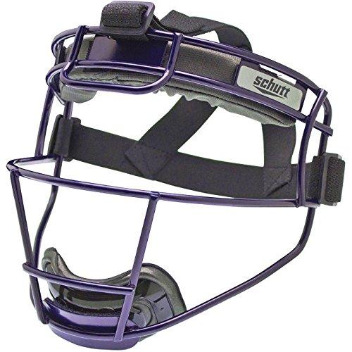 Schutt Youth Softball Fielder's Face Guard Purple by Schutt