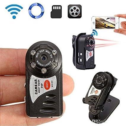 57dd9e1e2ea TenSky 1080P Mini HD Wifi Spy Camera Portable P2P WiFi IP Camera Hidden DV  DVR Camera
