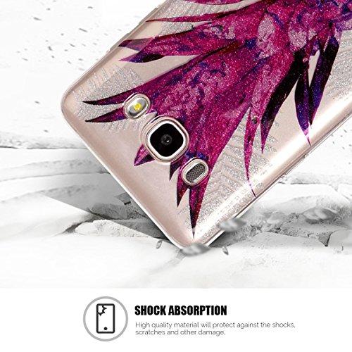 Funda Galaxy J5 2016 / J510, Galaxy J5 2016 Funda Silicona, SpiritSun Soft Carcasa Funda para Samsung Galaxy J5 2016 / J510 (5.2 pulgadas) Trasparente Carcasa Case Cristal Gel Protectora Carcasa Ultra Piña