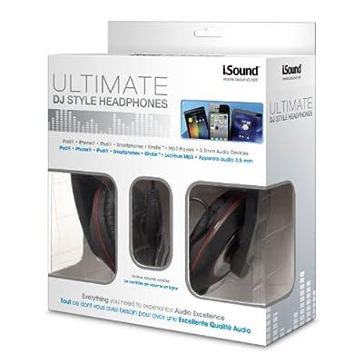 iSound Ultimate DJ Style Headphones