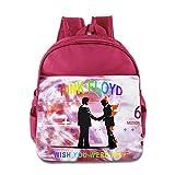 Pink Floyd - I Wish You Were Here Kids School Backpack Bag Pink