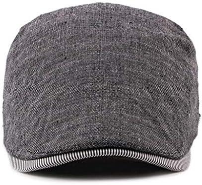 Xubaorsi ハンチング 帽子 キャスケット メンズ 紳士 ハット 鳥打帽 キャップ カジュアルアウトドア活動で使用できます おしゃれ サイズ調整可能 アウトドア 旅行用紫外線対策 男性用 帽子 キャスケット キャップ メンズ レディース ハット ワークキャップ ニュースボーイキャップ カジュアル アウトドア