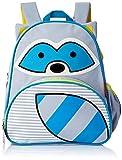 Skip Hop Toddler Backpack, 12' Raccoon School Bag, Multi.