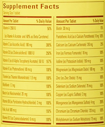 031604017910 - Nature Made, Multi For Her with Iron and Calcium, 90-Count Tablets carousel main 1