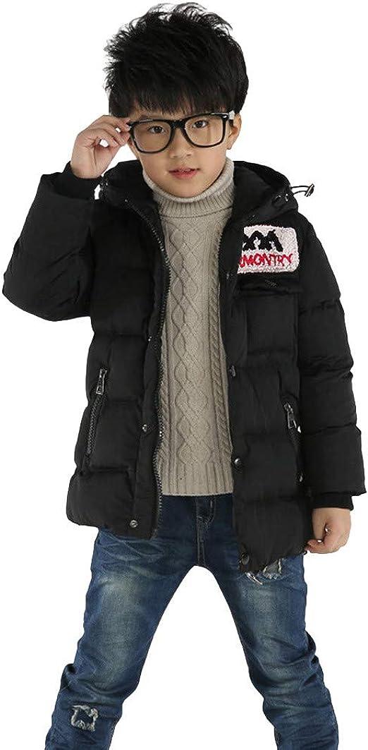 WARMSHOP Newborn Boy Girl Thick Down Cloth Black,