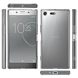 Sony Xperia XZ Premium Case,Ucc Crystal Clear,TPU Bumper Ultra Slim Protective Case with Anti-Scratch for Sony Xperia Premium