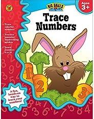Trace Numbers Workbook, Grades Preschool - K