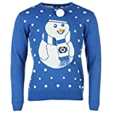 Glasgow Rangers Christmas Jumper mit Schneemann