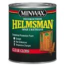 Minwax 63200444 Helmsman Spar Urethane, quart, Gloss