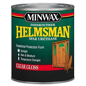 Minwax 63205 Helmsman Spar Urethane Satin Finish, Quart Paint Sundries Solutions 63205444