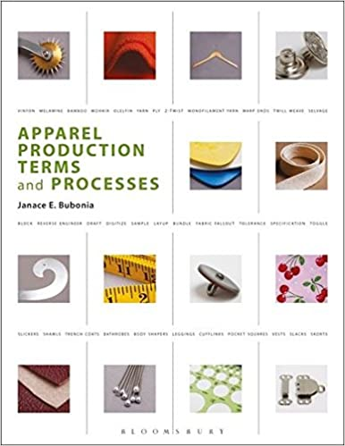 garment manufacturing industry apparel production terms and processes