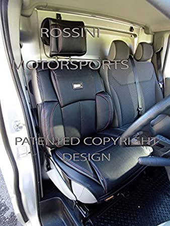 LDV Maxus Van Seat Cover YS 01 Rossini PVC Black Leatherette 1 Driver s Only 719e965e43a