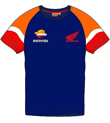 Camiseta de Hombre Azul Repsol Honda - Oficial 2019 X-Small ...