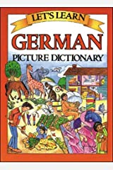 Let's Learn German Picture Dictionary Hardcover